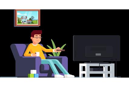 Modern IPTV Service